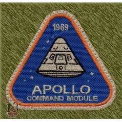 Parche bordado, apollo command module