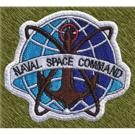 Parche bordado, naval space command