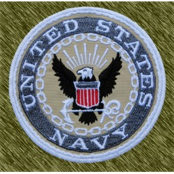 parche bordado, united states navy