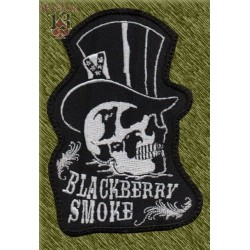 Parche bordado, blackberry smoke chistera