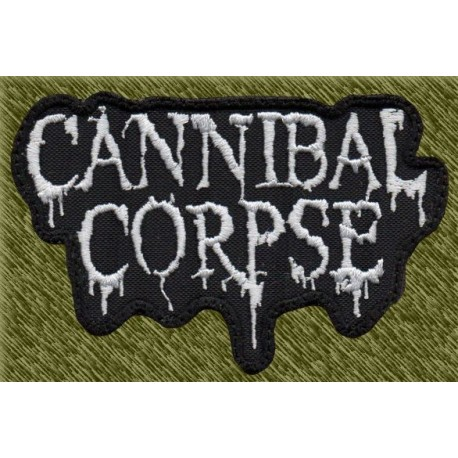 Parche bordado, cannibal corpse