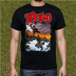 Camiseta negra, holy diver, new