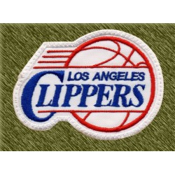 Parche bordado NBA, los angeles clippers