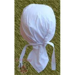 bandana blanca lisa