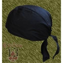 bandana negra lisa