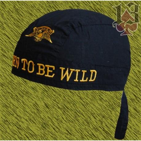 bandana bordada born to be wild