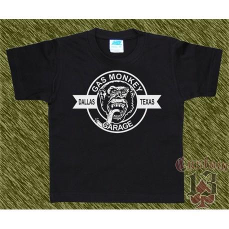 Camiseta de niño, gas monkey, modelo 09