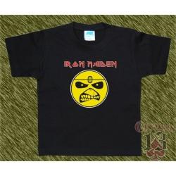 Camiseta de niños, Iron Maiden caricatura