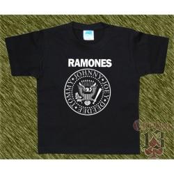 Camiseta de niños, ramones
