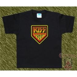 Camiseta de niños, kiss army