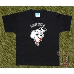 Camiseta de niños, lone wolf