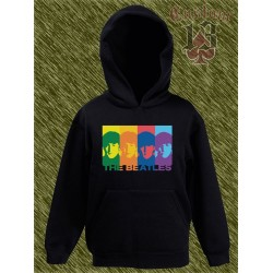 sudadera niño con capucha, the beatles