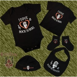 Conjunto de bebe, I love rock n roll