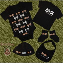 Conjunto de bebe, AC-DC