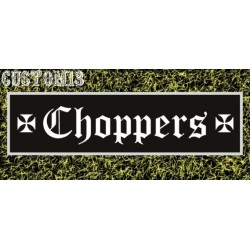 vinilo choppers recto