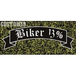 vinilo Biker 13%