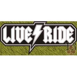Vinilo Live and Ride