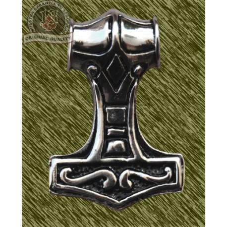 Colgante de acero, martillo thor mediano