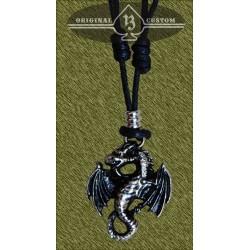 colgante dragón con alas