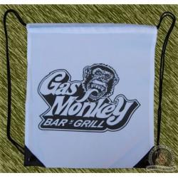mochila blanca, gas monkey