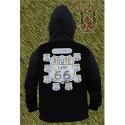 Sudadera con capucha, Routet 66 states