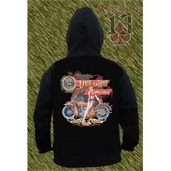 Sudadera con capucha, Ride a classic