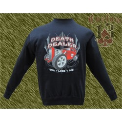 Sudadera sin capucha, Death dealer, hot rod
