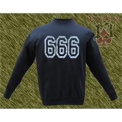 Sudadera sin capucha, 666