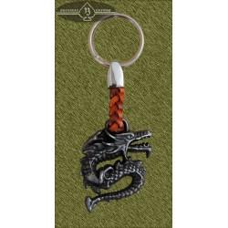 llavero dragón reptando