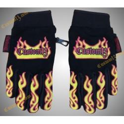 guantes llamas, custom13