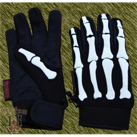 guantes huesos blancos, custom13