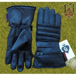 guantes invierno de piel con manopla de lluvia, custom13