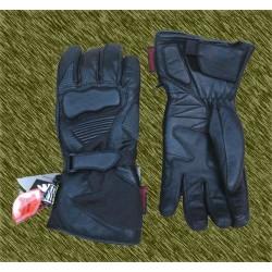 guantes invierno de piel, forro térmico y antihumedad