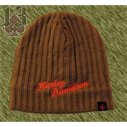 gorro de lana bordado Harley, beig