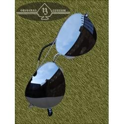 Gafas de sol, aviador pequeña, cristal de espejo
