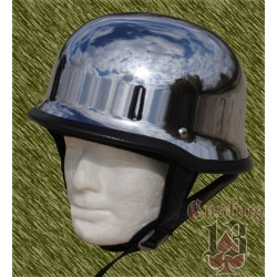 Casco nazi cromado