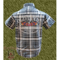 Camisa cuadros, Original old dixie