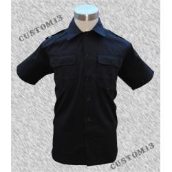 Camisa de trabajo, negra