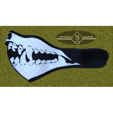 mascara neopreno esqueleto, custom13