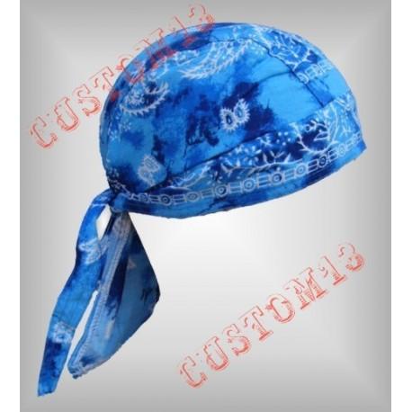 bandana cachemir azul