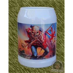 Jarra de porcelana, iron maiden, the trooper