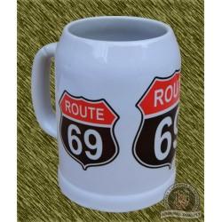 Jarra de porcelana, route 69