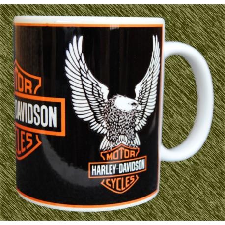 Taza de porcelana Harley Davidson