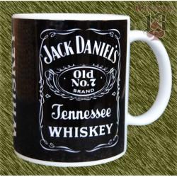 Taza de porcelana, Jack Daniel's
