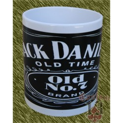 Taza de porcelana, Jack Daniel's 2