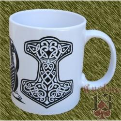 Taza de porcelana, Vikinga