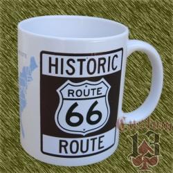 Taza de porcelana, Route 66