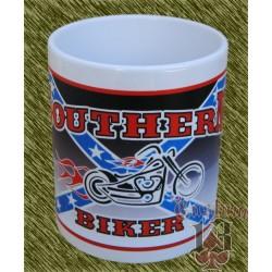 Taza de porcelana, Southern biker con motores