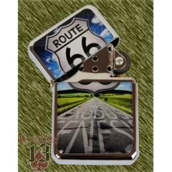 Encendedor route 66 carretera