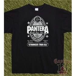Camiseta negra, pantera